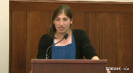 "To see Miss Wolf's full speech, click ""Exceptions to the Fifth Commandment""."