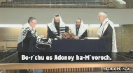 Blessings when called up for an Aliyah:
