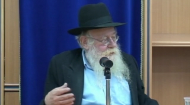 This lecture was given by Rabbi Steinsaltz during the Three Weeks, an annual period each summer in which we mourn the destruction of the Beit Hamikdash, the Holy Temple in Jerusalem. Rabbi Steinsaltz challenges his audience to consider its relevance to their lives. He inspires self-reflection regarding one's own life and goals as well as the future, both personal and collective.