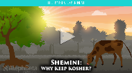 In this week's parsha, the Torah talks about one of the most impactful laws on the general lifestyle of the people of Israel - kosher animals. Have you ever considered WHY we're restricted from eating certain animals? And the specific laws - split hooves, chewing cud - seem totally arbitrary. But what if there was a way for us to think about kosher that makes sense, and can even strengthen our relationship with God?