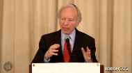 What does religion have to do with our great nation- the United States of America? And what does it mean for the upcoming 2012 election? Senator and former Vice-Presidential candiate Joe Lieberman explains the role of religion in the founding of this country and how religious tolerance is a fundamental and significant American principle whose value continues on into the new century
