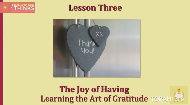 Learning the Art of Gratitude