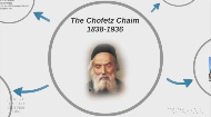 "In this segment on Jewish history, Dr. Henry Abramson provides a glimpse into the life and works of Rabbi Israel Meir Kagan. The ""Chofetz Chaim""'s famous work on the laws of gossip and slander, as well as his authoritative modern commentary on the Code of Jewish law have a lasting impact on the Jewish world today."