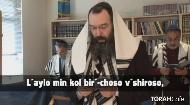 """Kaddish d'Rabbanan:             """"Yis-gadal v'yis-kadash sh'mayh rabo."""" (Cong - """"Omayn"""")   """"B'ol'mo di v'ro chir'u-sayh v'yamlich mal'chusayh, v'yatzmach pur'-konayh vikorayv m'shi-chayh."""" (Cong"""