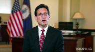 Rep. Eric Cantor shares a Pesach message honoring the shluchim's work around the world, emphasizing this time of personal geula.