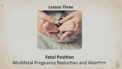 COMPLICATIONS IN PREGNANCY Aborting One Life to Save Another  Couples undergoing fertility treatment are often advised to reduce the number of fetuses in order to save a high-risk pregnancy