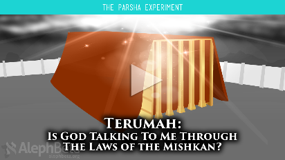 We're about to embark on a 7-chapter detailed journey through the instructions for building the Mishkan, the Tabernacle. Most people skip over these sections or read them very fast because they are tedious and completely unrelatable