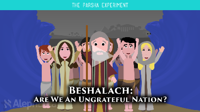 In Parshat Beshalach (Exodus 13:17-17:16) we're introduced to a nation of whiners and complainers. After years of slavery, the Israelites are finally a free nation! The next thing we should be reading is a love story between God and His people. But the honeymoon phase ends before it even begins