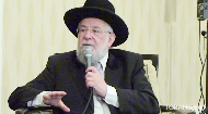 """Look at the light not the shadows.  He never agreed to a split amongst Jewish people, """"we are all from the same father, we are all one nation,"""" says Chief Rabbi Yisrael Meir Lau in this interview with Rabbi Dovid Eliezrie"""