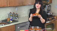 """Join Kosher food blogger Chanie Apfelbaum in cooking gourmet, Syrian stuffed vegetables, known in Sephardic culture as """"Mechsie"""".  To view the recipe on Chanie's blog click here:   http://www.busyinbrooklyn.com/mahshi-meat-rice-stuffed-vegetables/."""