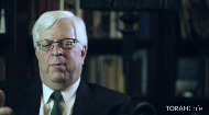 "In this segment of the ""10 question"" series, Mr. Prager shares his thoughts about the role of Jews in the world and whether we are fulfilling our divine mandate. Mr. Prager observes a sad irony.  To him, it seems, that Jews that are activein their heritage adopt an isolationist attitude and fall short in their role as a "" light onto the nations"", whereas secular Jews, who interact more with the international community, end up sharing  non-Jewish values."