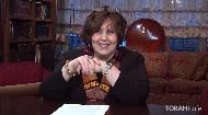 If we aren't happy then nothing and no one else can change that.  Purim is a time of simcha which comes from our own accomplishments. Mrs.Miryam Swerdlow uses this short and sweet video to encourage us to make connections with G-d through doing mitzvahs and with our loved ones through doing things we know they will appreciate