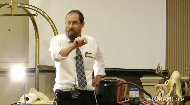 What does a split hoof look like - up close and real?  Rabbi Hillel Baron gives basic explanations of Kashrus with hands o