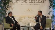 "A conversation with Dr. Judea Pearl, father of Daniel Pearl who famously died with the words ""I Am a Jew,"" on his lips. What does this mean to us? And what does it tell us about how we are to carry on in the face of tragedy?
