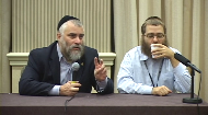 """This video is taken from a Stump the Rabbi session at the Sinai Scholars portion of JLI's National Jewish Retreat. In this clip, Rabbi Eliezer Sneiderman addresses the dilemma of those who have parents of different religions, and how they can identify themselves. Rabbi Eliezer Sneiderman provides a response for the question """"I want to be Jewish- isn't that good enough?""""."""