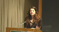 Daniella Sloane, currently studying at Dartmouth College, explains the difference of viewing g-d, and our responsibilities, through the eyes ofMartin Buber, Emmanuel Levinas, and Baruch Spinoza.     This presentation was delivered at the Sinai Scholars Academic Symposium 2010