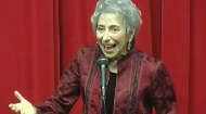 Peninnah Schram, well-known storyteller & author, is Professor of Speech and Drama at Yeshiva University's Stern College. Vibrantly elegant in her storytelling, she tells Jewish stories of wisdom and wit. Her latest book is an illustrated anthology, THE HUNGRY CLOTHES AND OTHER JEWISH FOLKTALES (Sterling Publ