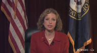 Debbie Wasserman Schultz, the U.S. Representative for the South Florida congressional district, and the Chair of the Democratic National Committee is the first Jewish Congresswoman elected from Florida.  She shares a beautiful Pesach message, expressing her appreciation for the Chabad shluchim in Florida and Washington