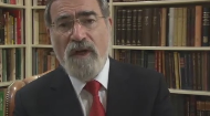 This video was graciously provided by the Office of the Chief Rabbi Lord Sacks.     There are a number of ways to stay connected with the Chief Rabbi:    Visit his website –chiefrabbi.org– to subscribe to his mailing list
