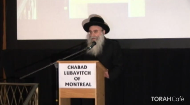 At one of Montreal's largest Jewish events in recent history, close to 2,000 men and women gathered for a  memorial service in honor of the slain Mumbai Shluchim.