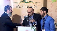 This segment introduces the journalist-rabbi-blogger, David Nesenoff, as he is presented with an award at the National Jewish Retreat. David Nesenoff captured the anti-semitic statements of White House correspondent, Helen Thomas, that ricocheted throughout the political world and ultimately resulted in Thomas' retirement
