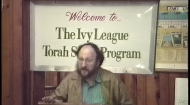 This class took place at the Ivy League Torah Study Experience (ILTSE), a summer Torah-learning program provided by the National Committeefor the Furtherance of Jewish Education. ILTSE is open to college-age and graduate students with minimal or no background in Torah learning
