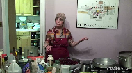 """Chef Levana Kirschenbaum shows how to use frozen fruit to get a 'wow' with this cherry-berry fruit salad macerated in creme de cassis and maple syrup.   This is an easy light dessert perfect for warm weather, or when fresh fruit is not available.    This is part 2 of 5 inthe Tu B'Shevat series, """"Cooking with Fruit."""""""