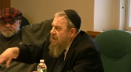 Watch Rabbi Dr. Immanuel Schochet's clever response to a paper delivered at the Sinai Scholars Symposium. He exposes the fundamental flaw in biblical criticism and the meaninglessness of religion without acceptance of Divine revelation.