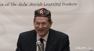 This lecture was delivered at the 13th annualNational Jewish Retreat. For more information and to register for the next retreat, visit:Jretreat.com.
