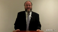 Perhaps the best thing is to say nothing, just be there.  Rabbi Ephraim Mirvis recounts some possible bloopers to avoid saying to a mourner, and suggests some phrases that could be comforting or at least not distressing at this sensitive moment.  Video Produced by United Synagoguesee more videos onAsk the Rabbiand How To...