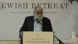 This session will address the fascinating parallels of current confrontations to the Jewish community to the millennia-old tensions between Christianity, Islam, and Judaism. Along the way, you will discover how YOU can affect world events through your own actions.  This lecture took place at the 12th annualNational Jewish Retreat
