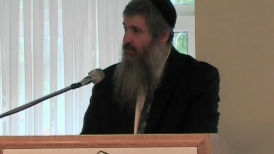 The past and present are interconnected; the footsteps of man are directed by G-d.