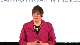 """""""Reclaiming Mikvah in the Postmodern Age"""" is a talk given by Mrs. Rivkah Slonim as part of a fast-paced session called """"Ten Talks"""" featuring 10 short powertalks from 10 inspiring speakers, showcasing important ideas that change attitudes, lives, and, ultimately, the world."""