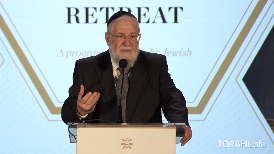 Shabbat. The Day of Rest. Discover the religious, social, national, and family benefits of this important day.  This lecture took place at the 12th annualNational Jewish Retreat. For more information and to register for the next retreat, visit:Jretreat.com.