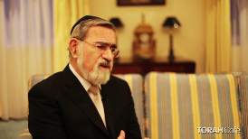 The real question should be, how do you answer such a question in 4 minutes?  Returning to the 3 aspects: creation, revelation and redemption, Rabbi Jonathan Sacks answers this important question with references to modern day philosophers and great societies built by people deeply influenced by the Hebrew Bible  Abraham who lived close to 4000 years ago, with no army and no empires, but with lessons so pure, true and eternally valid, that his effect has influenced every culture since