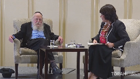 A discussion with Rabbi Adin Steinsaltz, author ofMy Rebbe.