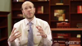 Have you ever found yourself being torn away from a spiritual moment by an insensitive person?  Rabbi Aryeh Weinstein presents this scenario to illustrate how G-d responds to our prayers and our requests.  Please visitrabbiweinstein.comfor inspirational weekly videos, lectures and audio classes.