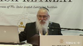 """""""Rabbi, am I allowed to go to the doctor on Shabbos?"""" """"Am I allowed to warm up my lunch?"""" """"Can I get something out of my car?"""" Find out the answer to these and other relevant laws regarding Shabbos, the day of rest.  This lecture took place at the 12th anuual National Jewish Retreat"""