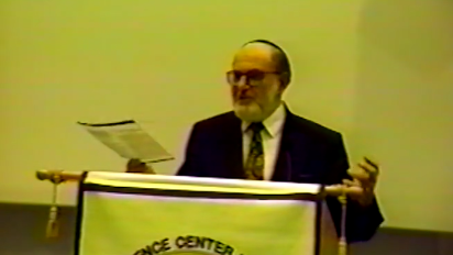 What takes precedence, the rights of the individual or the safety of the community? Rabbi Herbert Bomzer tackles the question of whether compulsory medical treatment for tuberculosis is ethical from a Jewish perspective.  This presentation took place in 1993 at theInternational Conference on Judaism and Contemporary Medicine. The video recording is courtesy of Dr