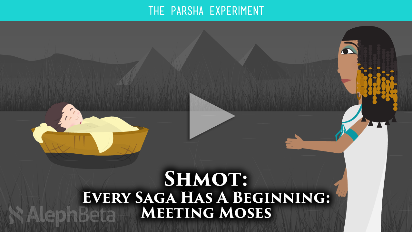 Everyone loves a good origin story - how did Anakin Skywalker become Darth Vader? Who was Peter Parker before Spiderman? In this video for Parshat Shmot (Exodus 1:1-5:23), we focus on Moses --- who was he before God appointed him as leader? How did Moses become Moses?.