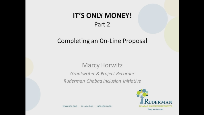 It's Only Money!