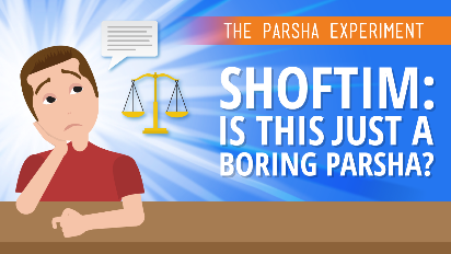 If the entire book of Deuteronomy is supposed to be Moshe's rousing speech before the nation enters Israel, how can we understand the mundane text of Parshat Shoftim? Instead of inspiration, we hear law after law of seemingly trivial matters - witnesses, legalities, land boundaries