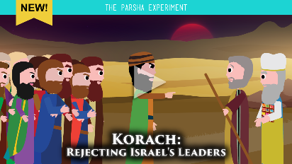 We've seen Israel complain over and over, but never before have they tried to undermine and dispose of their leaders. Join us as we make sense of Korach's shocking complaints, this week on the Parsha Experiment.