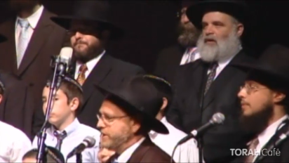 "On 27 Sivan 5768 (June 30, 2008), Lubavitch Chabad of Illinois presented ""The Song & The Spirit"" featuring the debut of the Chabad Choral Ensemble directed by Rabbi Mendel Moscowitz, Chazan Schneur Zalman Baumgarten, Ruby Harris & The Sugelah Orchestra, the Andy Stateman Trio and a talk by Rabbi Yossi Jacobson."