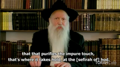 In this short clip, Rabbi Ginsburg analyzes the three words used in the Torah to describe the ritual bath that was meant for removing spiritual impurity.