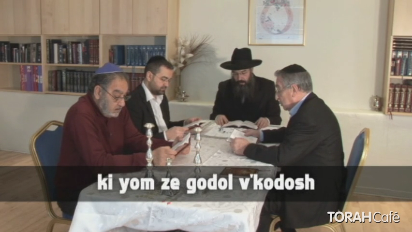 Click here to view the Grace after Meals blessings