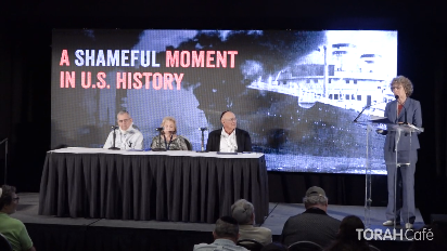 In 1939, America turned away a boat filled with Jewish refugees. Hear a panel of survivors and passengers of the trip, along with the movie director of Complicit, and an official apology from the U.S. State Department. Confront the shocking truth of America's response.