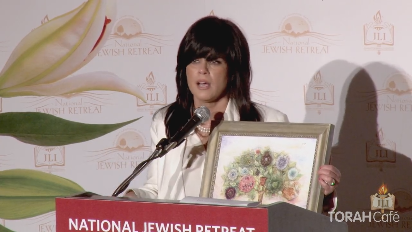 In this short clip, Mrs. Devorah Halberstam is presented with the Jewish Hero Award.  Following the tragic murder of her 16-year-old son, Devorah Halberstam began her passionate campaign against hatred and terrorism. She is honored for her courage and determination in turning her sorrow into a catalyst for incredible growth and learning.
