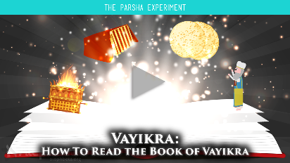 The book of Leviticus is tough - no narrative, and really difficult topics - for instance, how do we relate to holiness, purity and sacrifice in the 21st century? In this week's video for Vayikra (Leviticus 1:1-5:26), we will learn how to read the perplexing book of Leviticus.