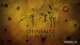 Steinsaltz Sunday Promo